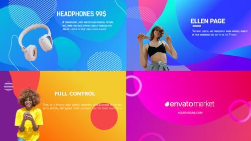Videohive - Liquid Typography Slideshow And Scenes    FCPX - 34221027 - 34221027