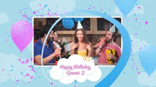 Videohive - Happy Birthday Opener 2 - 34234841 - 34234841