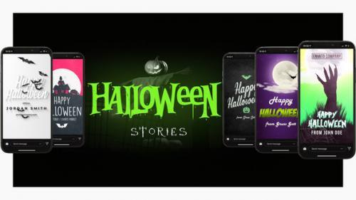 Videohive - Halloween Instagram Stories & Posts - 34242594 - 34242594