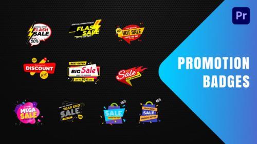 Videohive - Badges Sale Promo Mogrt 19 - 34255803 - 34255803