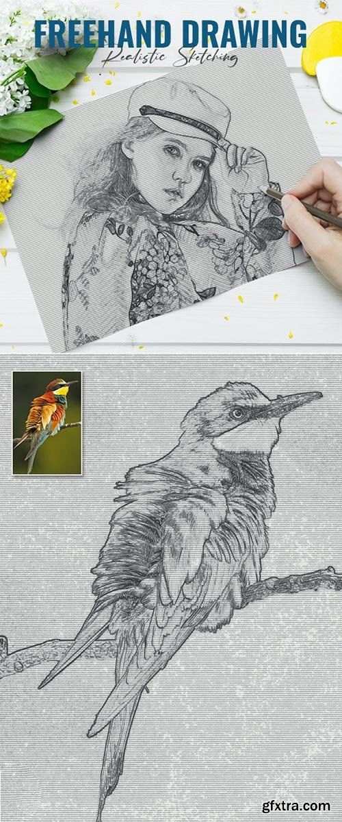 GraphicRiver - Freehand Drawing Sketch 33954631