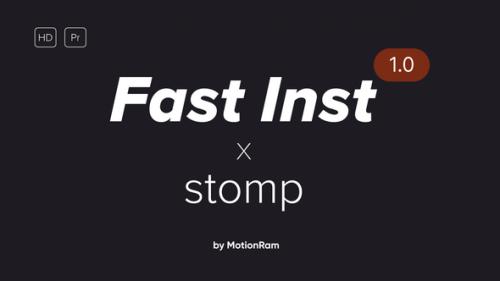 Videohive - Fast Instagram Stomp - Premiere Pro - 34226237 - 34226237