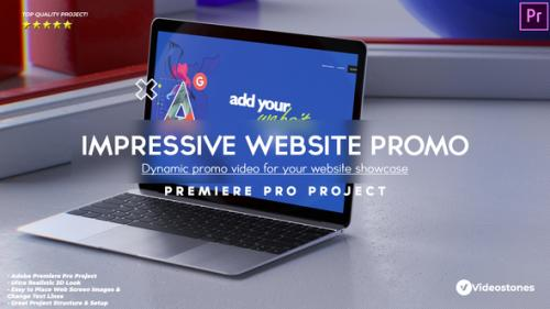 Videohive - Impressive Website Promo - Web Demo Video Premiere Pro - 34227400 - 34227400