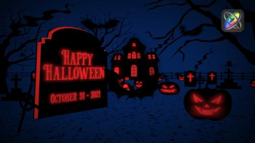 Videohive - Halloween Greetings Apple Motion - 34228798 - 34228798