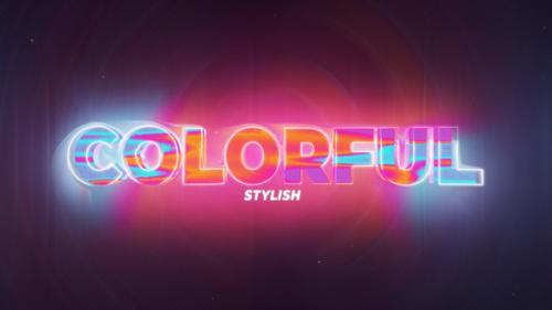 Videohive - Colorfull Title - 34237324 - 34237324
