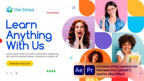 Videohive - Colorful Education Promo - 34242362 - 34242362