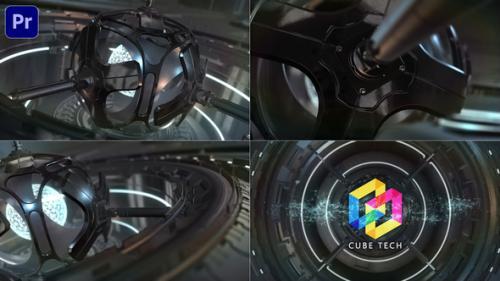 Videohive - SciFi Cyber Tech Logo_Premiere Mogrt - 34251570 - 34251570