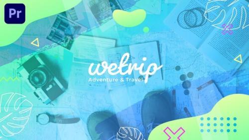 Videohive - Wetrip - Adventure & Travel Slideshow | Premiere Pro MOGRT - 34253021 - 34253021