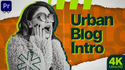 Videohive - Urban Blog Intro (MOGRT) - 34257324 - 34257324