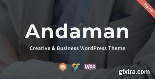ThemeForest - Andaman v1.1.5 - Creative & Business WordPress Theme - 22448925