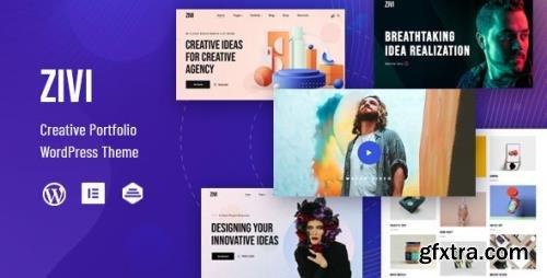 ThemeForest - Zivi v1.0.3 - Contemporary Creative Agency Theme - 28159292