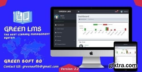 CodeCanyon - Green LMS v2.3 - The Library Management System - 25602126 - NULLED