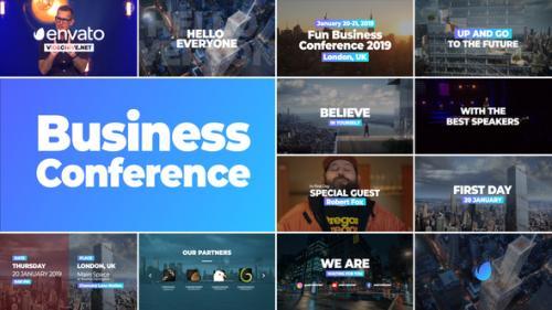 Videohive - Business Conference Promo - Premiere Pro - 34226606 - 34226606