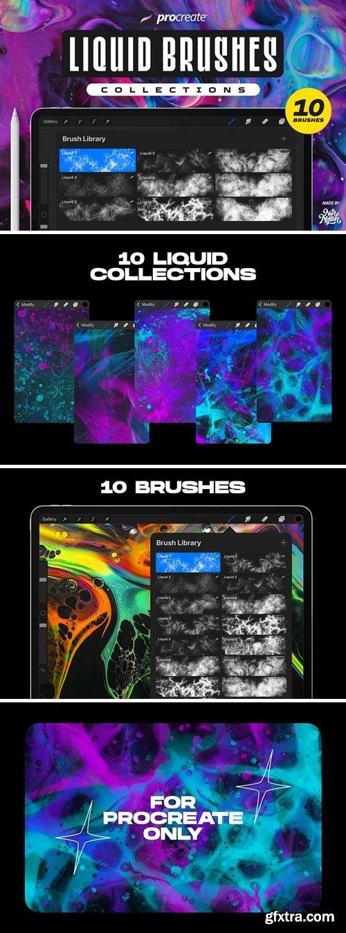 Procreate Liquid Brushes