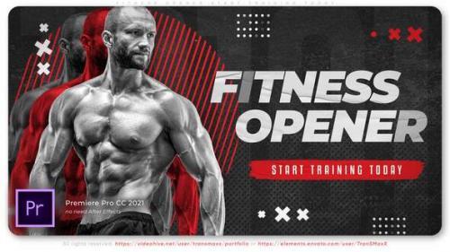 Videohive - Fitness Opener. Start Training Today - 34262826 - 34262826