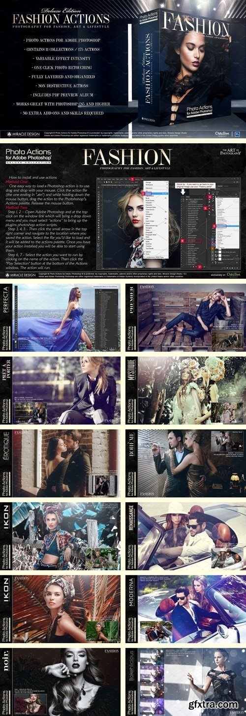 CM - Actions for Photoshop / Fashion 2018663