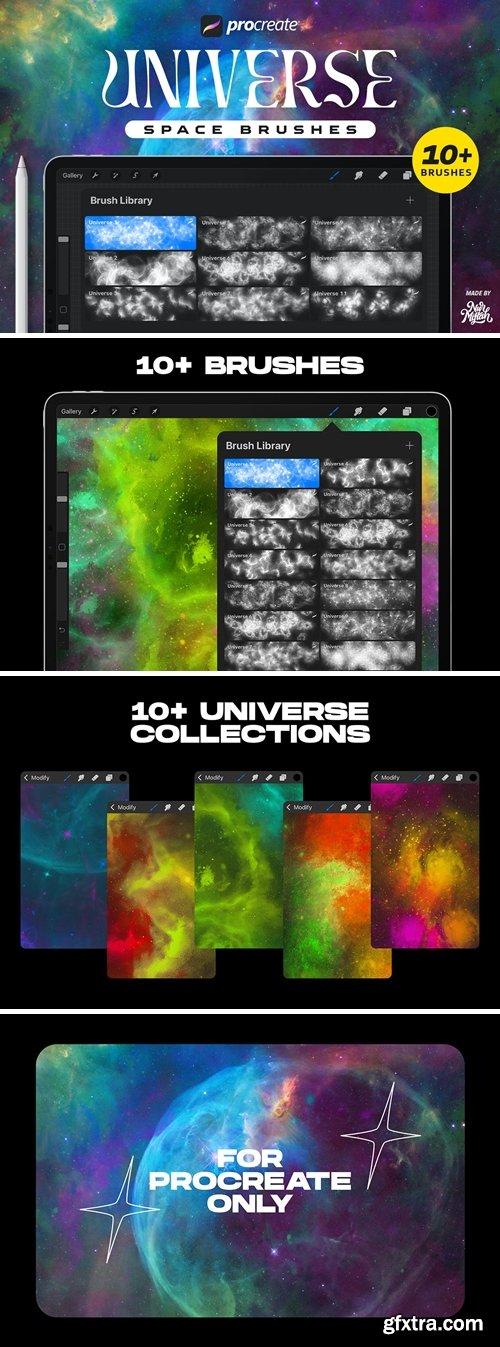 Procreate Universe Brushes