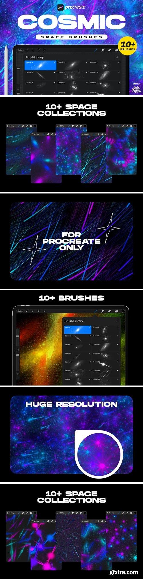 Procreate Cosmic Space Brushes