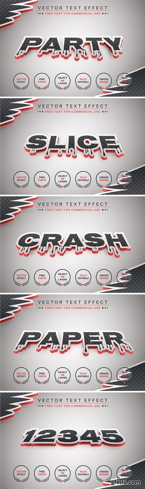 Dark Party - Editable Text Effect, Font Style