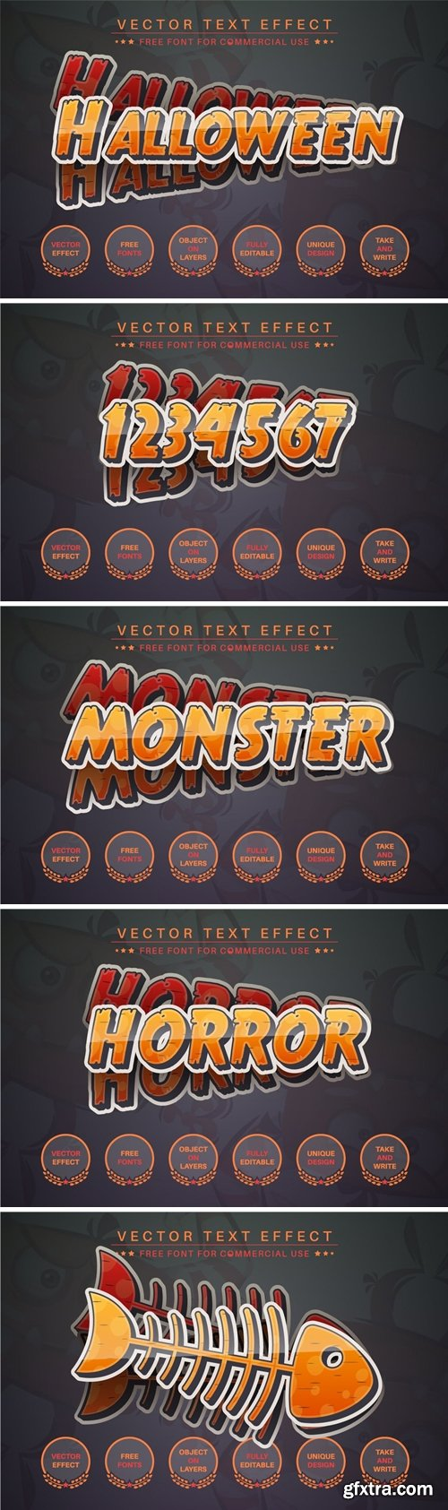 Halloween - Editable Text Effect, Font Style