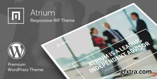 ThemeForest - Atrium v2.7 - Finance Consulting Advisor WordPress Theme - 7636859