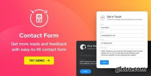 CodeCanyon - Contact Form v2.3.1 - WordPress Contact Form Plugin - 21638322