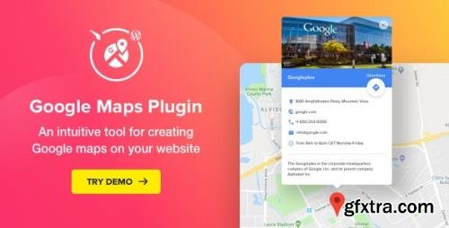 CodeCanyon - Google Maps v2.4.2 - WordPress Map Plugin - 20574814