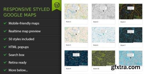 CodeCanyon - Responsive Styled Google Maps v5.1 - WordPress Plugin - 3909576