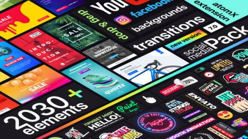 Videohive - Instagram Stories and Motion Graphics | Titles & Transitions Premiere Pro Template - 34020079 - 34020079