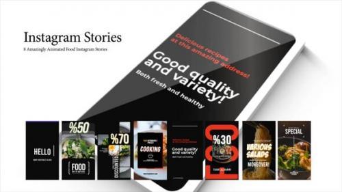 Videohive - Food Instagram Stories - 34260898 - 34260898