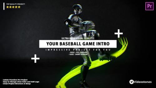 Videohive - Your Baseball Intro - Baseball Promo Video Premiere Pro - 34269958 - 34269958