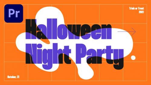 Videohive - Halloween Party Promo - 34274516 - 34274516
