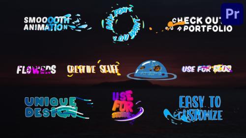 Videohive - Colorful Liquid Titles | Premiere Pro MOGRT - 34275657 - 34275657