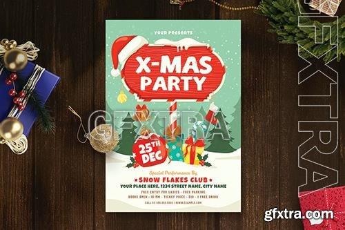 Christmas Party Flyer 4 CWJXMVJ