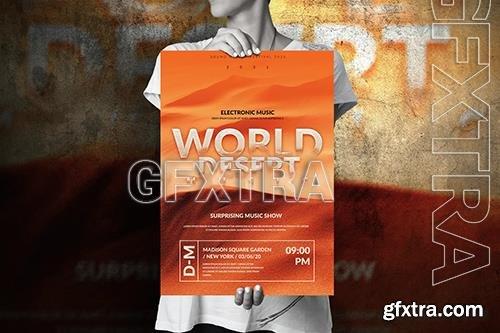 Art Music Event - Big Poster Design 326FWQT