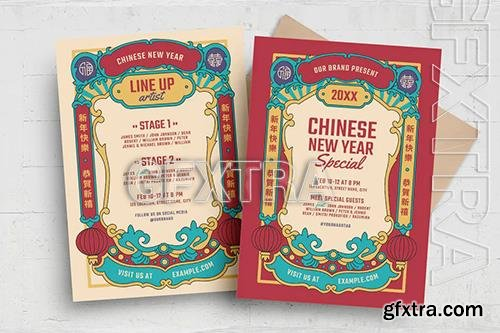 Chinese New Year Flyer 9GBLNLL