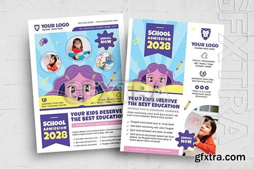 Education School Flyer VAEZHJ2