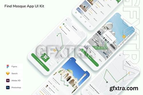 Find Mosque App UI Kit