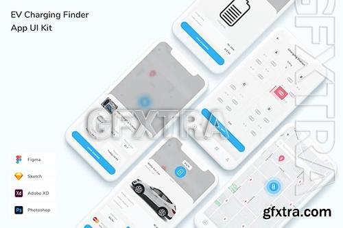 EV Charging Finder App UI Kit F9ENMYA