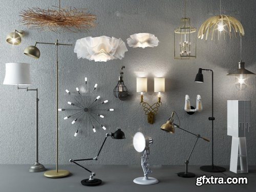 Modern chandelier table lamp floor lamp wall lamp Collection