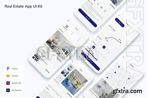 Real Estate App UI Kit MP7H6G8