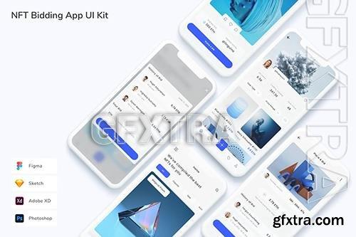 NFT Bidding App UI Kit MW2MUAE