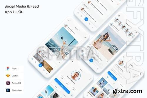 Social Media & Feed App UI Kit VFMD8F6