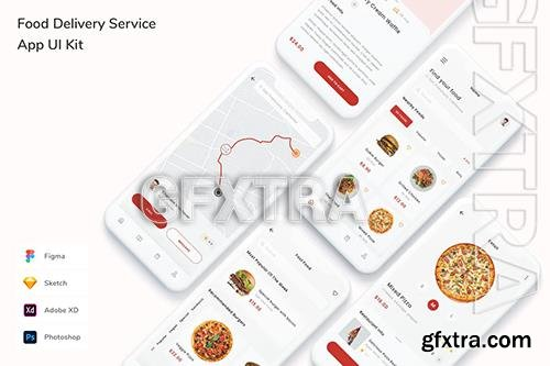 Food Delivery Service App UI Kit 46F64NH