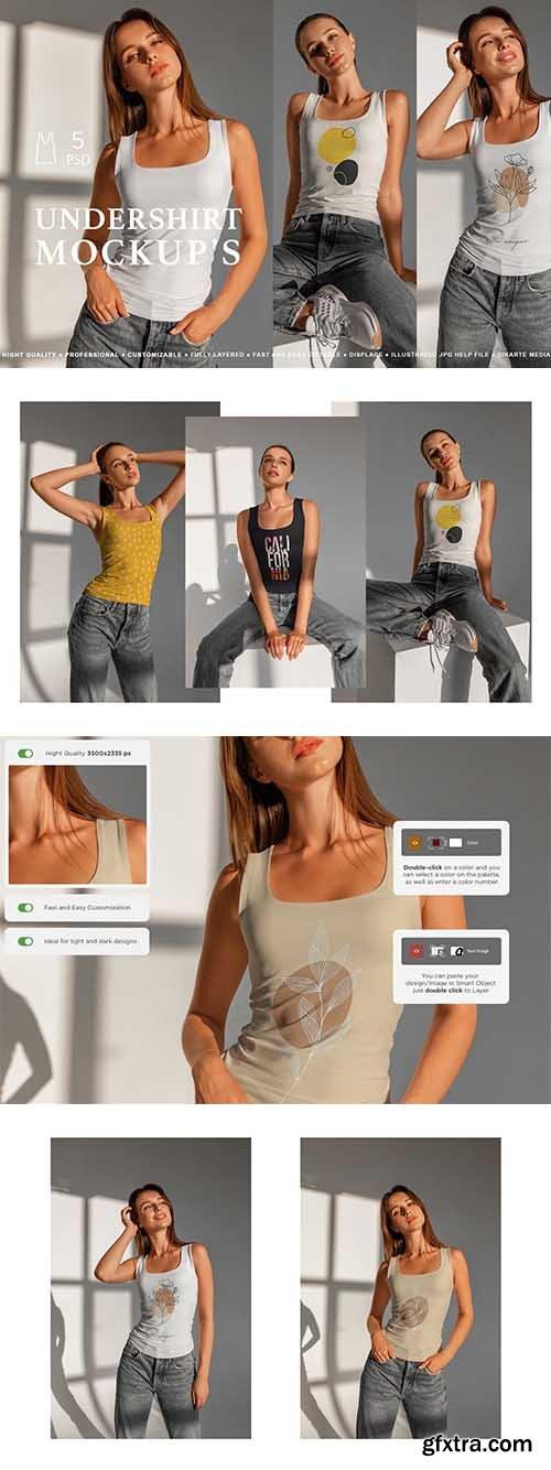 CreativeMarket - Undershirt Mockup\'s 6584410