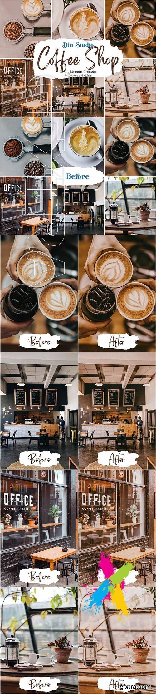 CreativeMarket - Coffee Shop Lightroom Presets 5480314