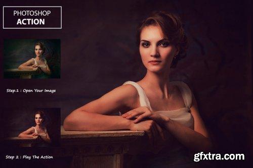 CreativeMarket - Dark Warm Tones - PS Action 3239003