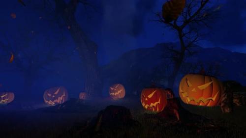 Videohive - Halloween Background Loppabel - 34228867 - 34228867