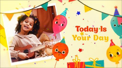 Videohive - Happy Birthday Slideshow 3 | MOGRT - 34303381 - 34303381