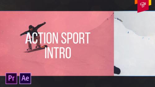 Videohive - Action Sport Intro - 34304851 - 34304851